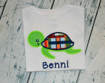 Personalized Sea Turtle Shirt or  Bodysuit