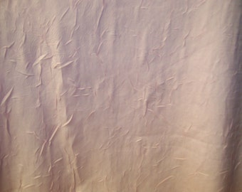 "Light Pink Crinkled Chiffon Fabric - By the Yard 56"" Wide"