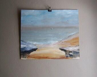 Vintage Seascape Painting