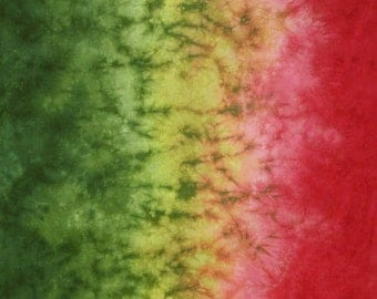 Hand Dyed Fabric - Coelus -  Gradient