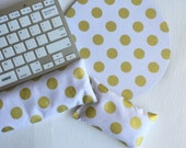 Keyboard rest and / or WRIST REST set MousePads  - Pick your own pattern - mouse pad set coworker gift - graduation office Desk Accessories