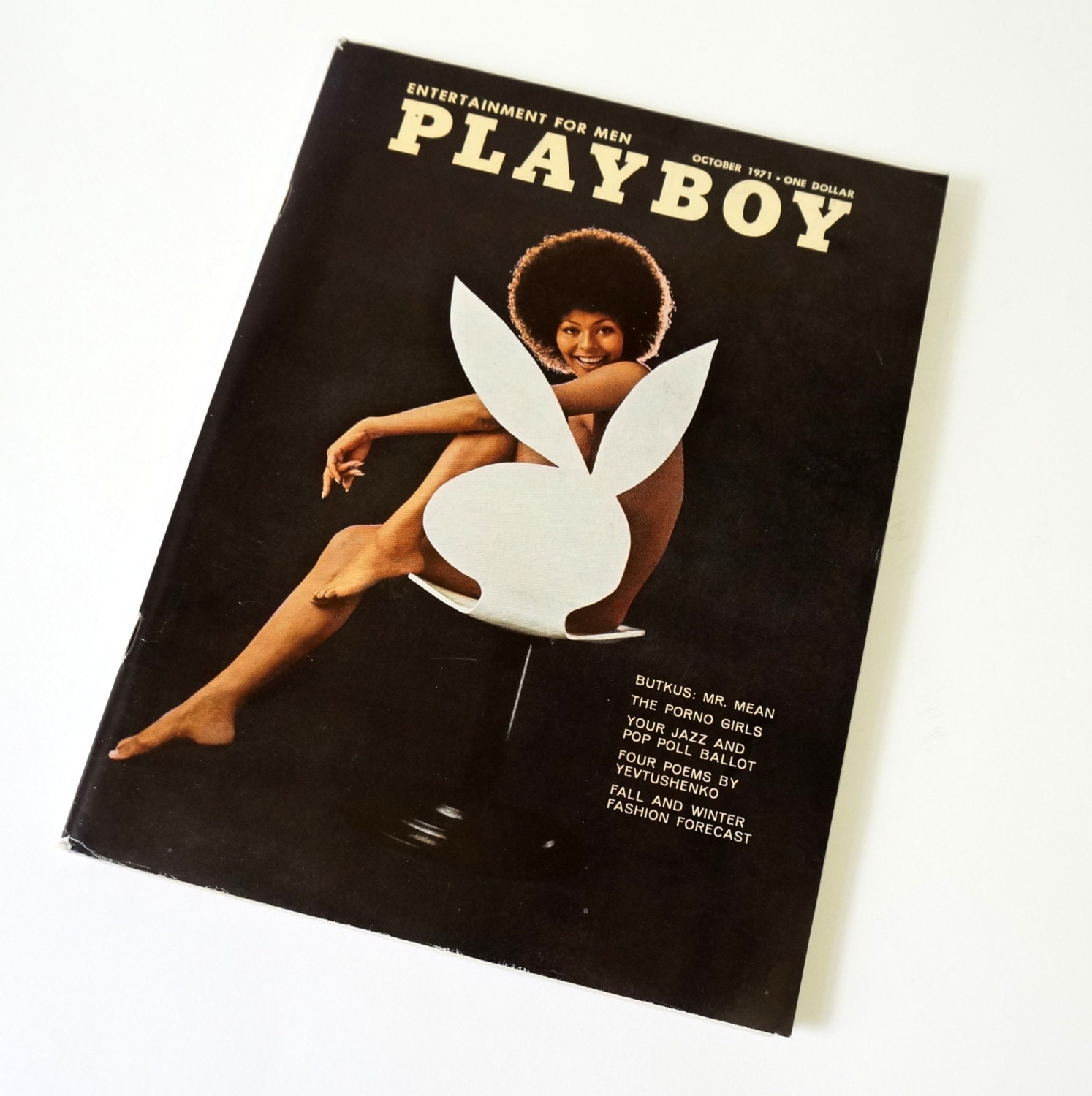 Playboy - October, 1971 Back Issue