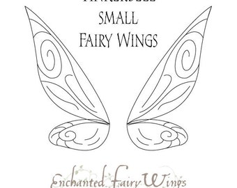 fairy cut out template - pattern and tutorial for adult fairy wings thalia large