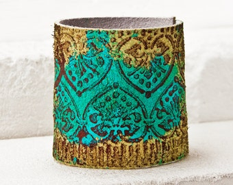 Leather Cuff Bracelets - Women's Leather Wristband - Spring Fashion, Mother's Day Gift, Presents For Her