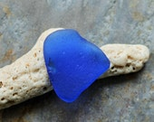 Cobalt Blue Seaglass. Undrilled. Lot P4.