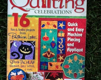 Fons&Porter Quilting Celebrations-16 projects from Patrick Lose