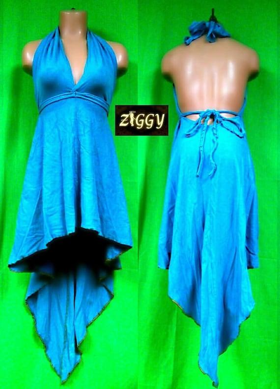Custom Halter Pixie Dress