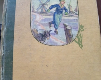 1945 hardcover Hans brinker or the silver skates rare