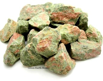 Unakite Natural Stone  One Large Chunk, Rock Hound, Healing Crystals, Feng Shui, Grids, Reiki, Wicca, New Age