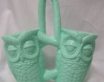 Tootsie Pop Owl Kitchen Caddy Mint Green