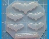 SALE Medium Kawaii Bat and 4 smaller Bats Pallet Handmade Plastic Mold