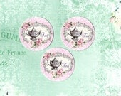 Stickers, Teapot, Shabby Tea Stickers, Roses & Tea, Sticker Seals