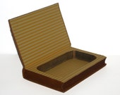 Hollow Book Safe The Ranch At The Wolverine Cloth Bound vintage Secret Compartment Keepsake Hidden Security Box