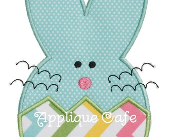 728 Bunny 5 Machine Embroidery Applique Design