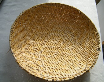 Hopi Winnowing Basket