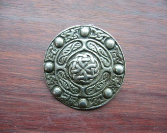 Vintage Mizpah Brooch Scotland Scottish Celtic