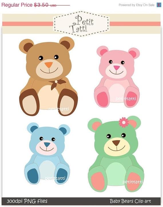 Soft Toys Clip Art : Items similar to on sale bear clip art teddy