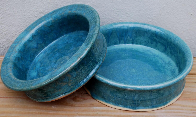 Dog Bowl Pet Bowl Dog Bowl Pottery Ceramic Dog Dish - photo#2