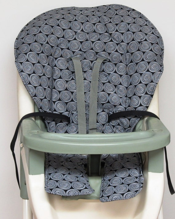 graco high chair cover pad replacement white circles on. Black Bedroom Furniture Sets. Home Design Ideas
