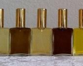 Natural Perfume Oil Samples, Natural Perfume - Botanical Perfume, Sample, organic, ylang ylang, lavender, bergamot, floral, vegan