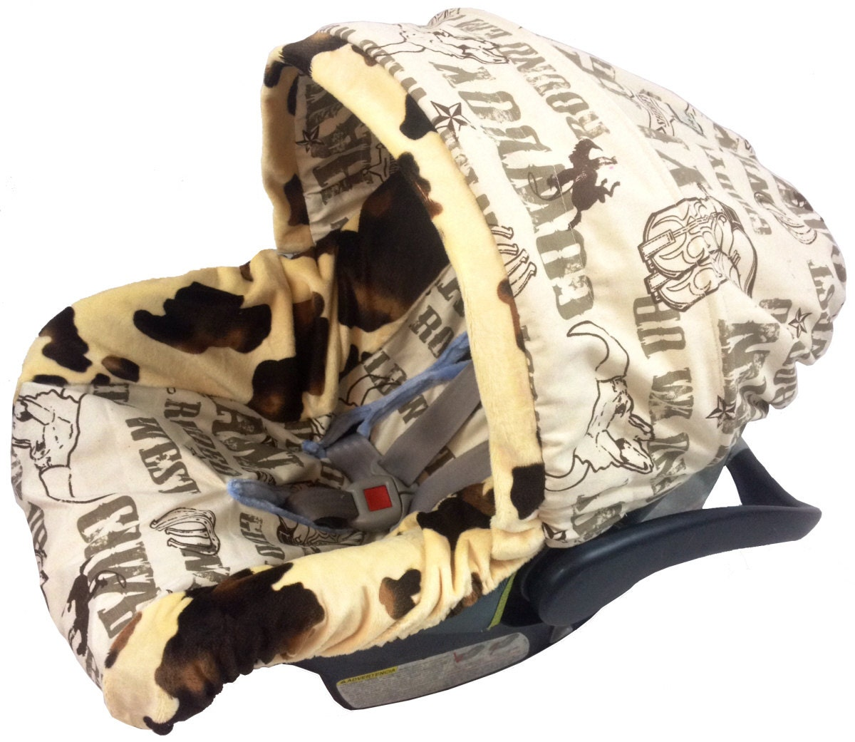 Cowboy Infant Car Seat Cover Baby Car Seat By