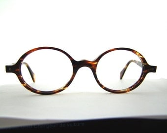 Rare Designer Face a Face Eyeglasses // made in France // early 90s / model is RONIE