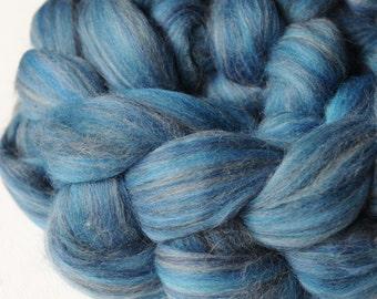 Blue Jay Merino Tussah Silk Custom Blended Top - 4 oz