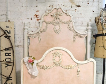 Painted Cottage Marie Antoinette Romantic Deluxe French Bed