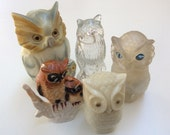 Vintage 1970's Instant Owl Collection