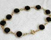 Swarovski Austrian Black Crystal Bracelet