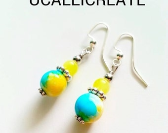 Molly Earrings (Classy Edition) /Handmade by Me/Gifts for Her