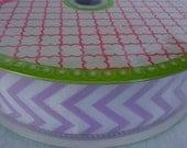 Designer Ribbon,50 yds of ribbon,Wired Ribbon,ZigZag Ribbon,Sewing supplies,Crafting supplies,Ribbon Quilting,Ribbon for Clothing,