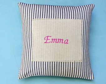 new baby pillow, nursery pillow, baby shower pillow, baby name, baby room decor, baby shower
