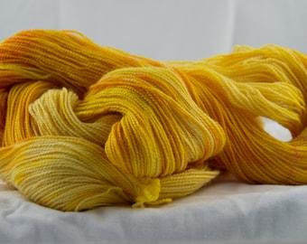 Hand-dyed Sock Yarn, BFL 2 ply, Love Me Chain - Sailor Moon Series