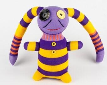 Boy Halloween Gift Birthday Gift Handmade Sock Pirate Stuffed Animal Doll Baby Toys