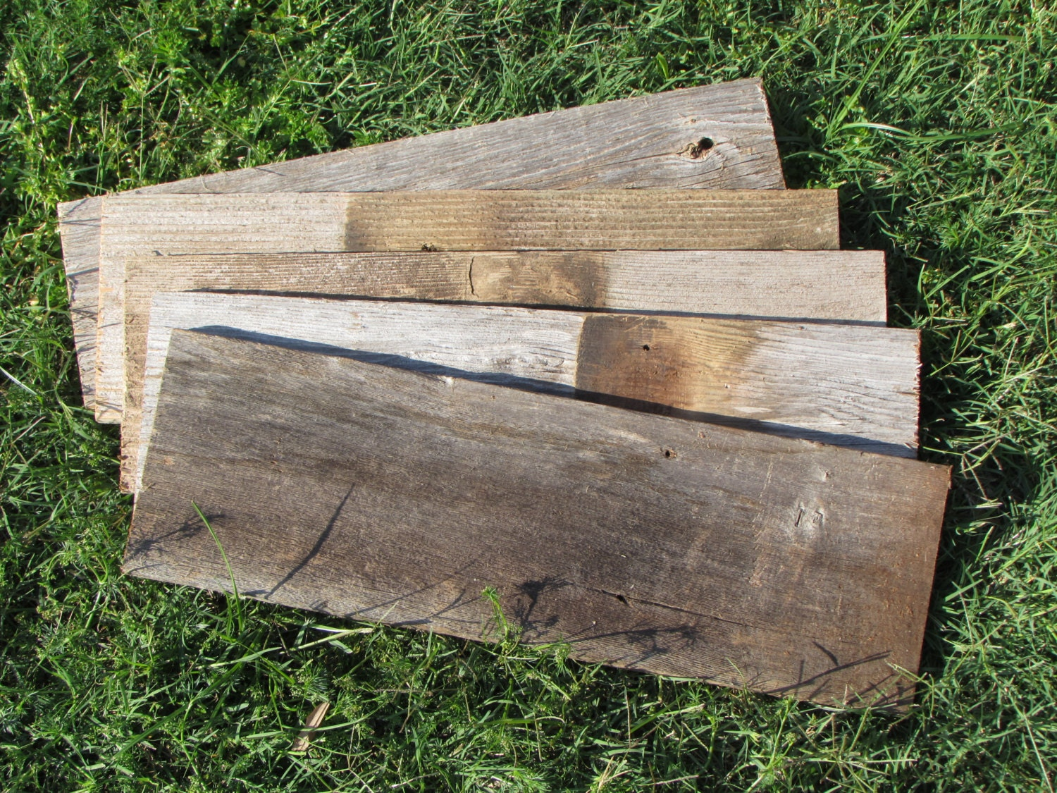 Old Wood Board ~ Reclaimed old fence wood boards board inch length