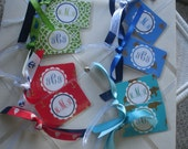 Preppy Foil BagTags Luggage Tags for the Individual
