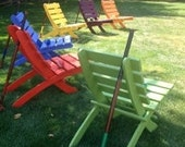 ON SALE! - 6 Cedar Chairs, 6 Colors, Save 60 Dollars - Yard, Deck, Patio, Beach, Garden - Folding Chairs -  in 15 colors!   Laughing Creek