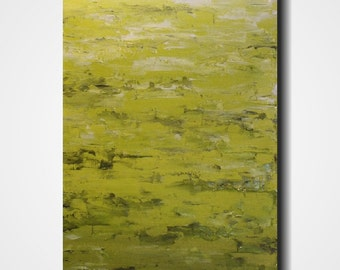 Art Original painting abstract art  18 X 36 Inches -------Looking ahead------