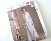 UNCUT Sewing Pattern for Bridal, Bridesmaid Dress and Shrug, McCalls 9700 G, Sizes 20, 22, 24