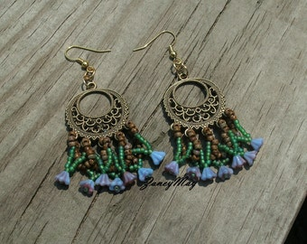 DeVine Earring Pattern in PDF