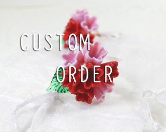 Custom wedding flowers - 2016 order - Payment 1