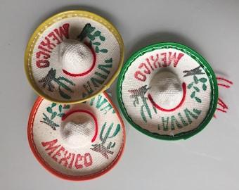 """MH012 Single Mini Mexican Sombrero Hat 3"""""""