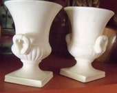 NAPCO NapcoWare Eclectic Home Decor Vintage Home Mid Century Pottery Vases Miniatures Matte White