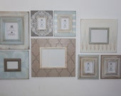 Set of 8 Neutral Gallery Wall Frames