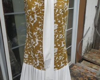 Adorable lovely   MOD  1960s   Toni Todd drop waist dress
