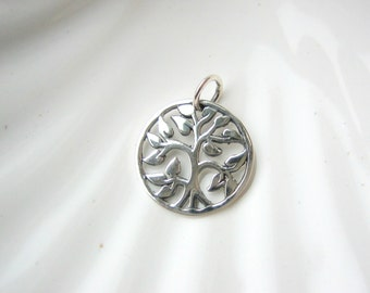 Sterling Silver Tree of Life Charm - Add On - Family Tree