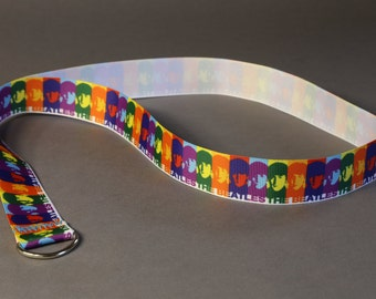 Colorful Beatles Lanyard