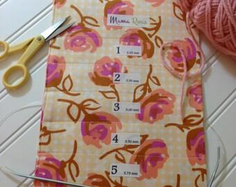 Lilyrose, Hanging Circular Knitting Needle Holder, 8 x 26, 15 Channels