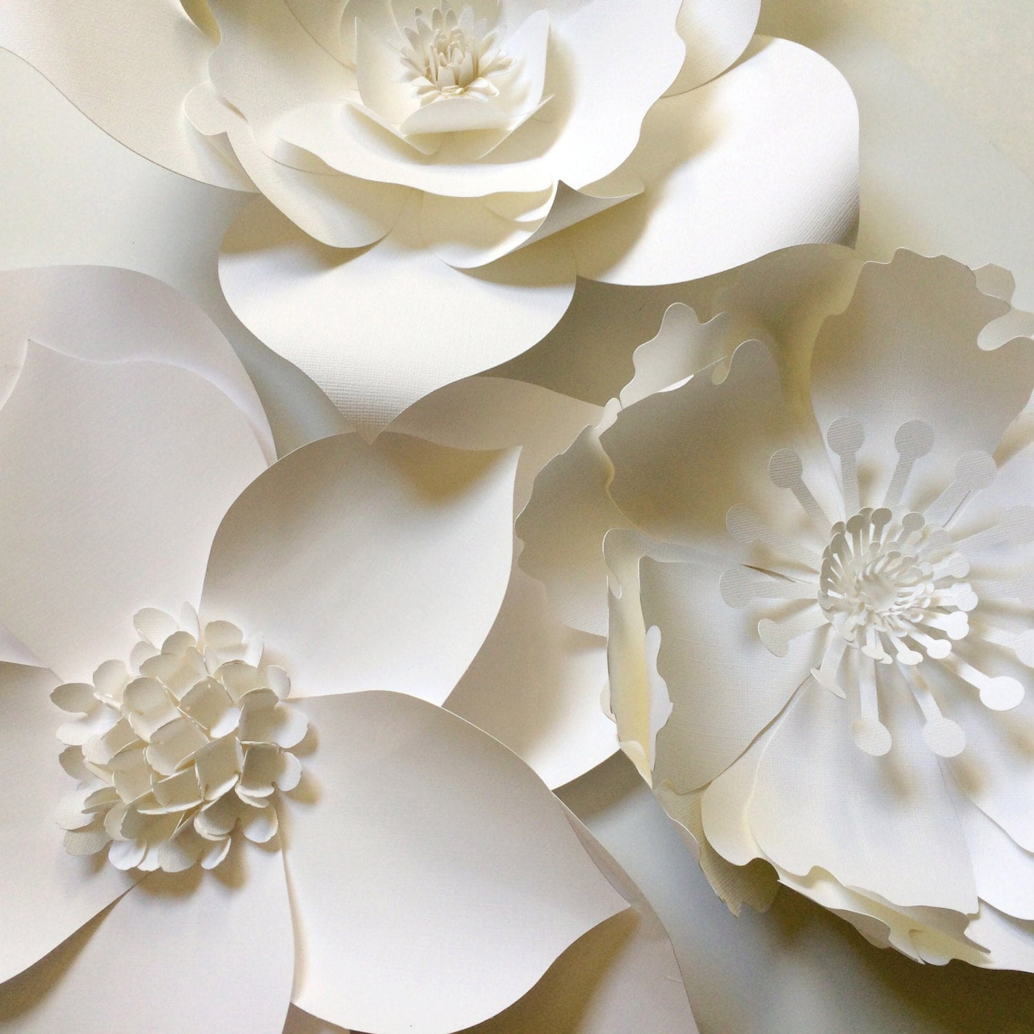 Paper Flower Wall Decor Large Paper Flower Backdrop By